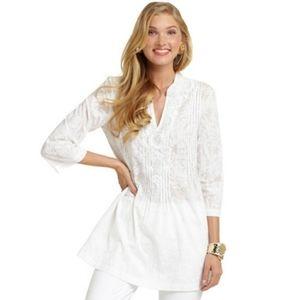 Lilly Pulitzer Sarasota Tunic Beaded Sequin Tunic